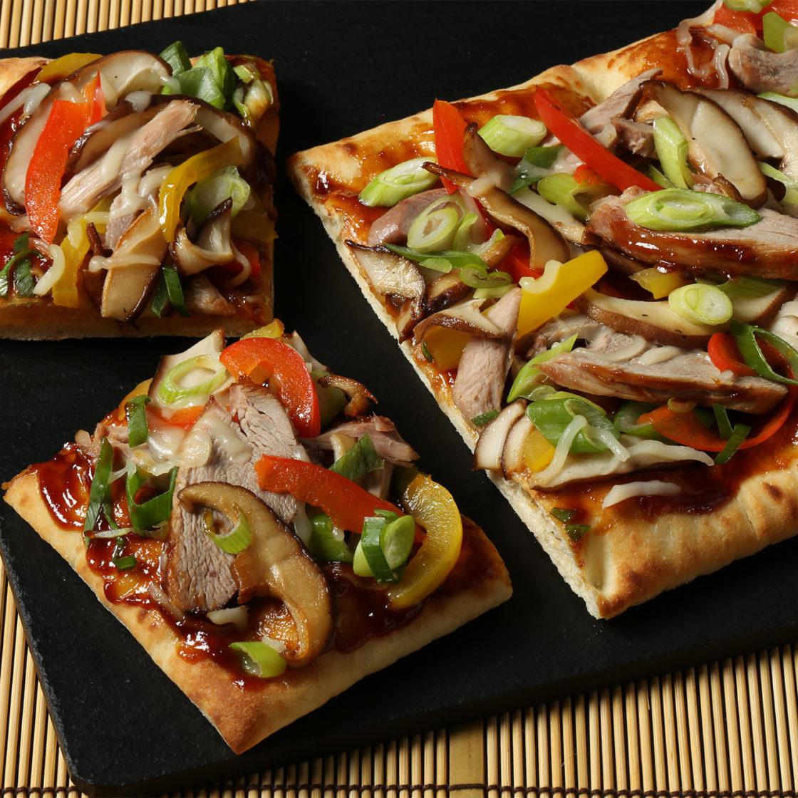 Brooklyn Bred Pizza Crust Peking Duck Pizza