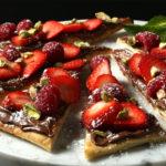Brooklyn Bred Pizza Crust Nutella Delight Dessert Pizza