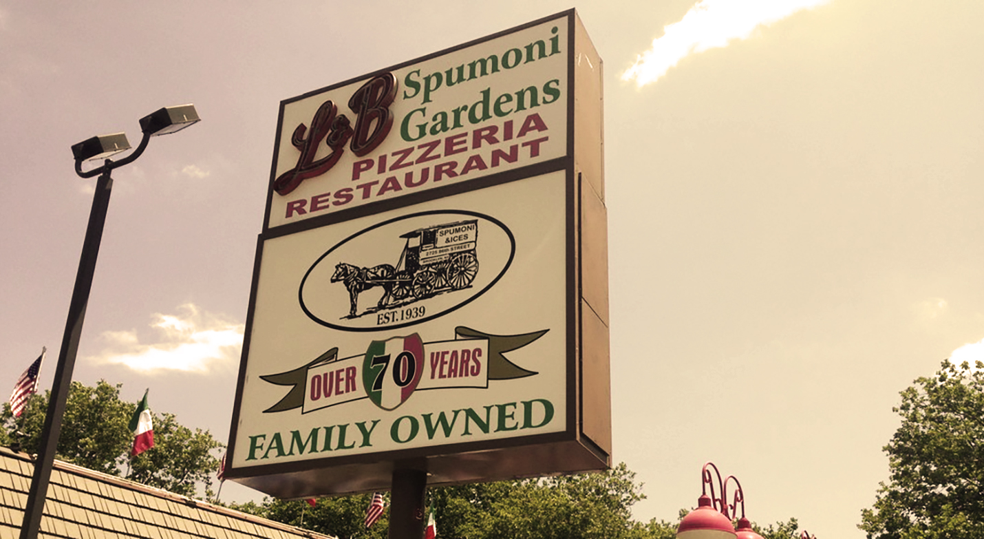 Brooklyn Bred Pays Respect to L & B Spumoni Gardens