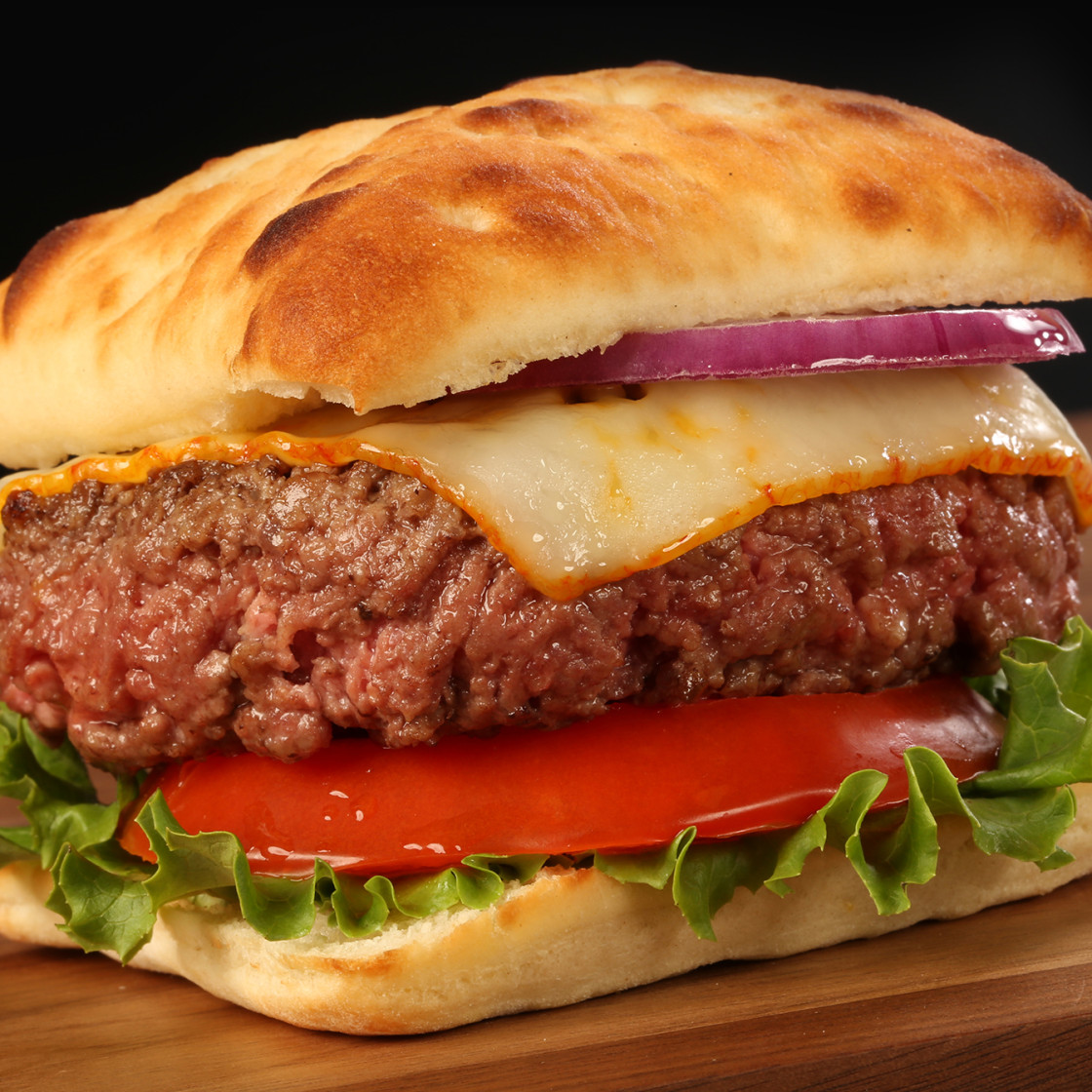Brooklyn Bred Bistro Buns Ultimate Cheese Burger