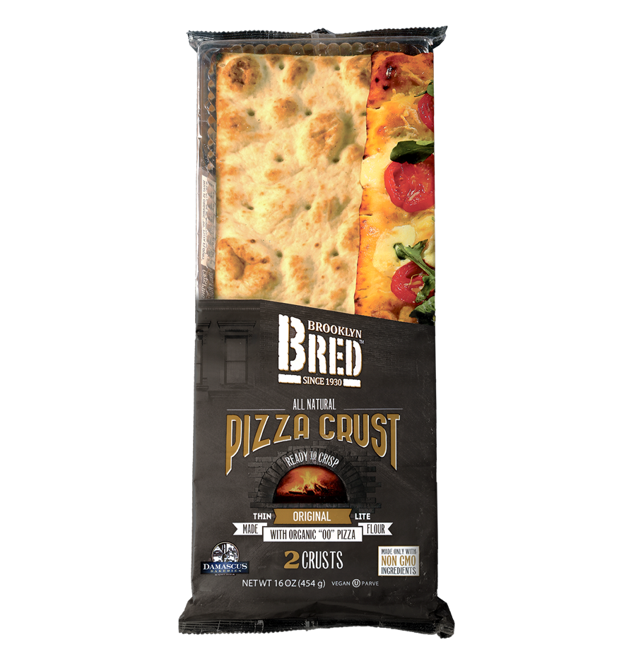 Brooklyn Bred Pizza Crust Original Product Package