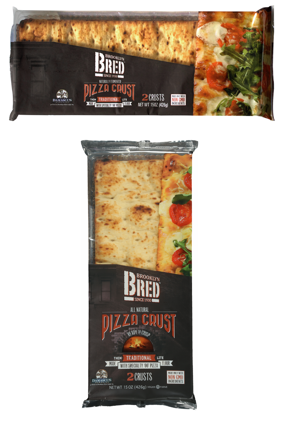 Brooklyn Bred Pizza Crust Traditional Product Package