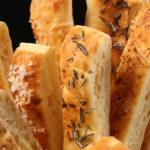 Brooklyn Bred Bistro Sticks Topped & Baked Breadsticks