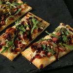 Brooklyn Bred Pizza Crust Fig Fontina Arugula Pizza