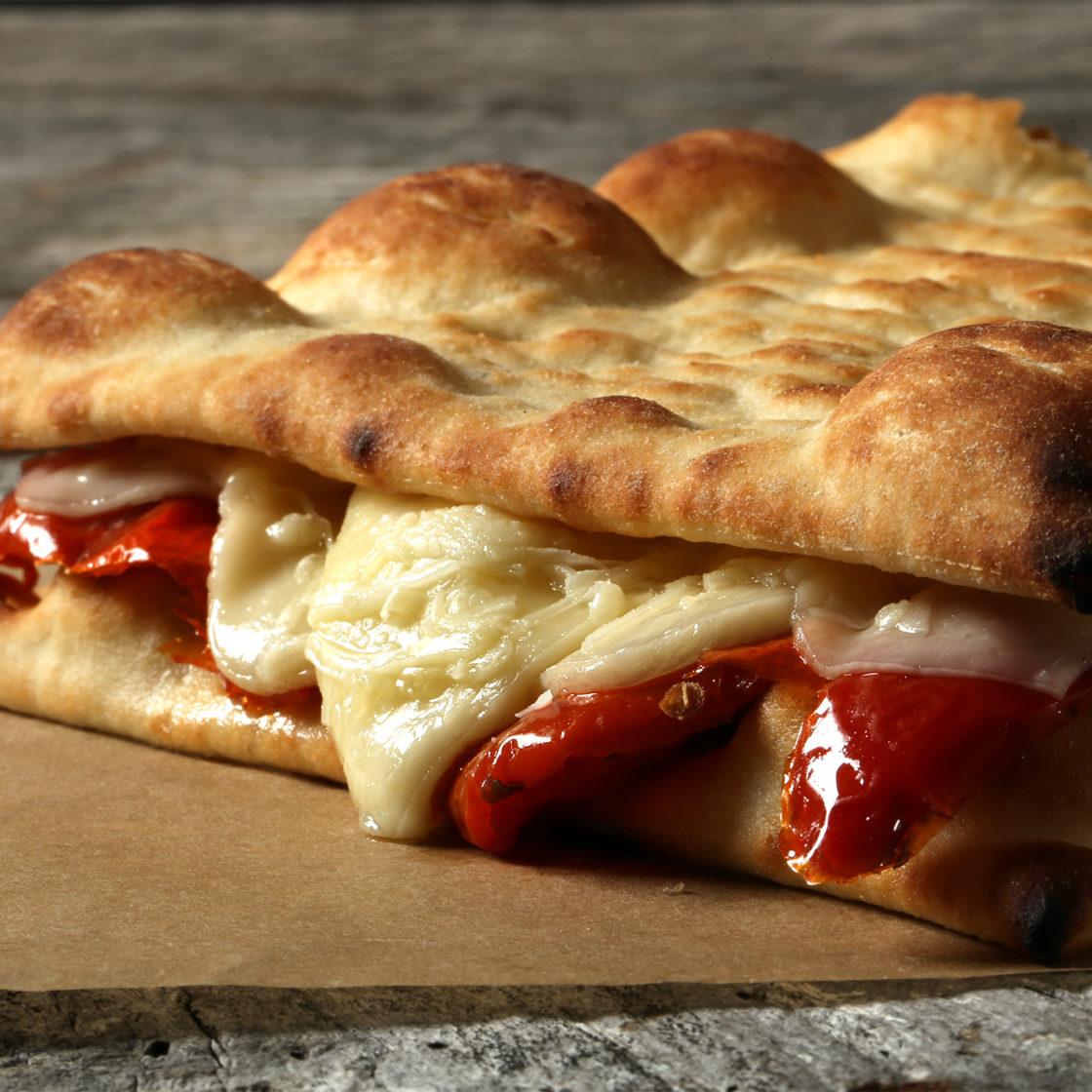 Brooklyn Bred Pizza Crust Grilled Cheese Italiano